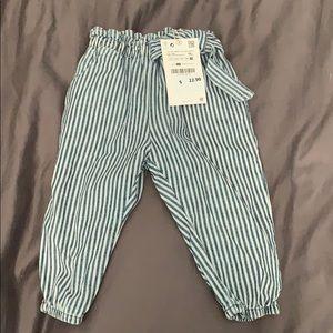 Zara baby girl pants